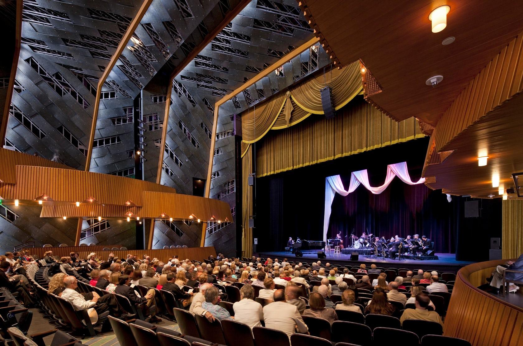 Francis Marion University Performing Arts Center Architizer
