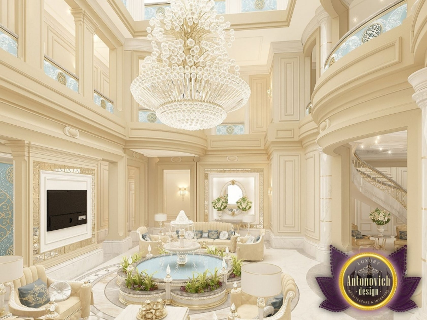 Beautiful House Designs From Luxury Antonovich Design