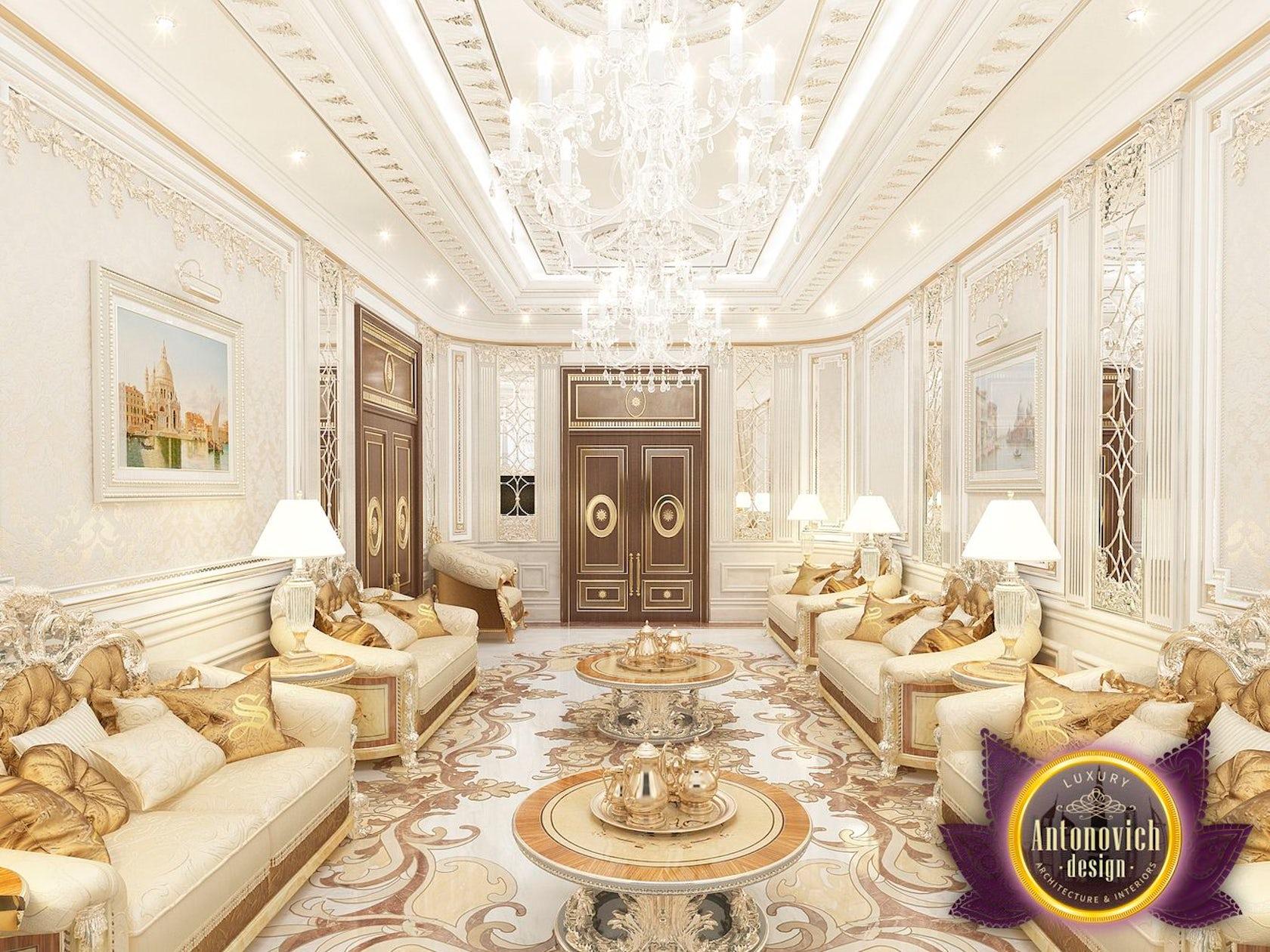 Living room interior design by luxury antonovich design - Living room designs images ...