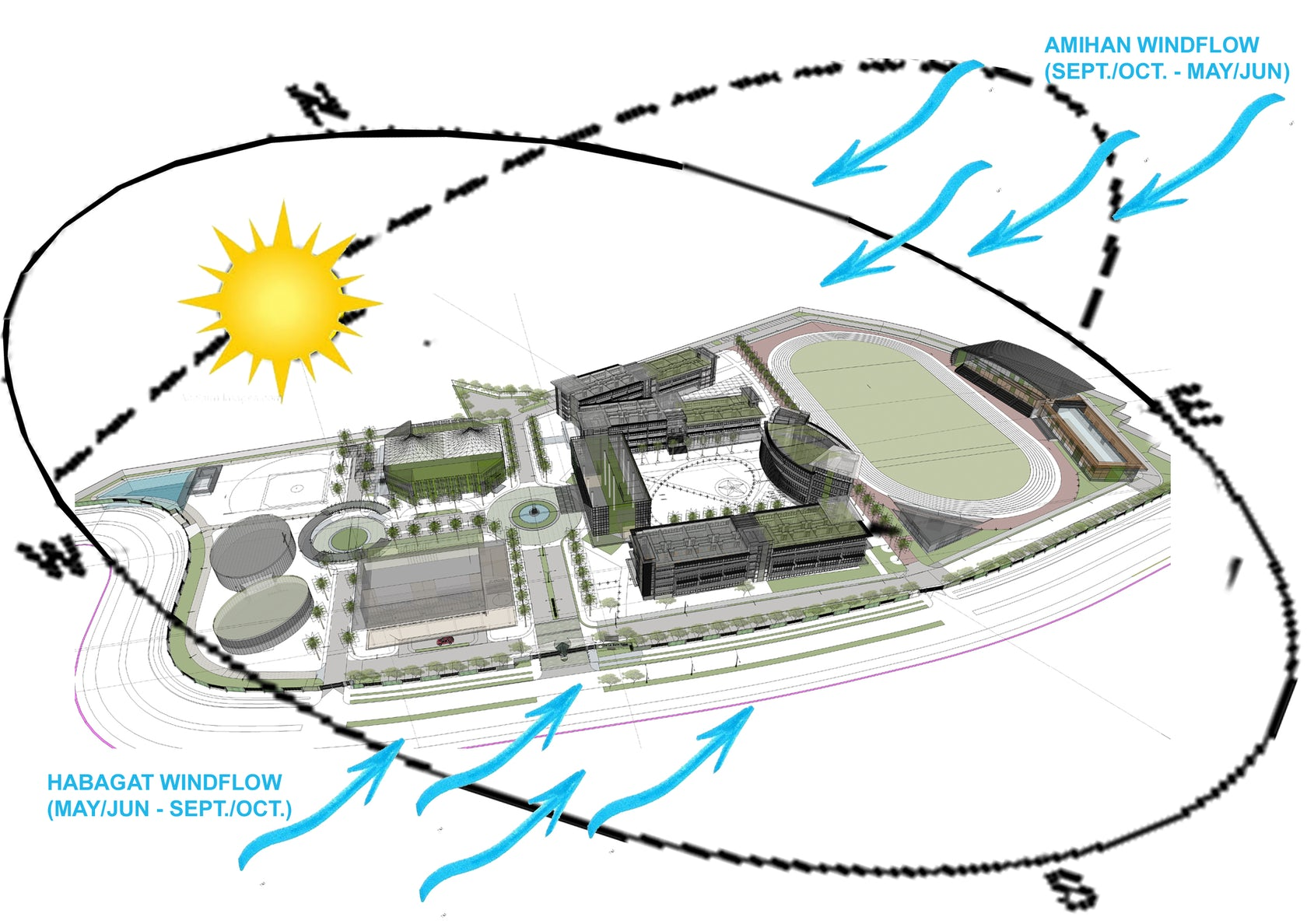 Sage Auto Group >> The De La Salle Santiago Zobel High School Campus - Architizer