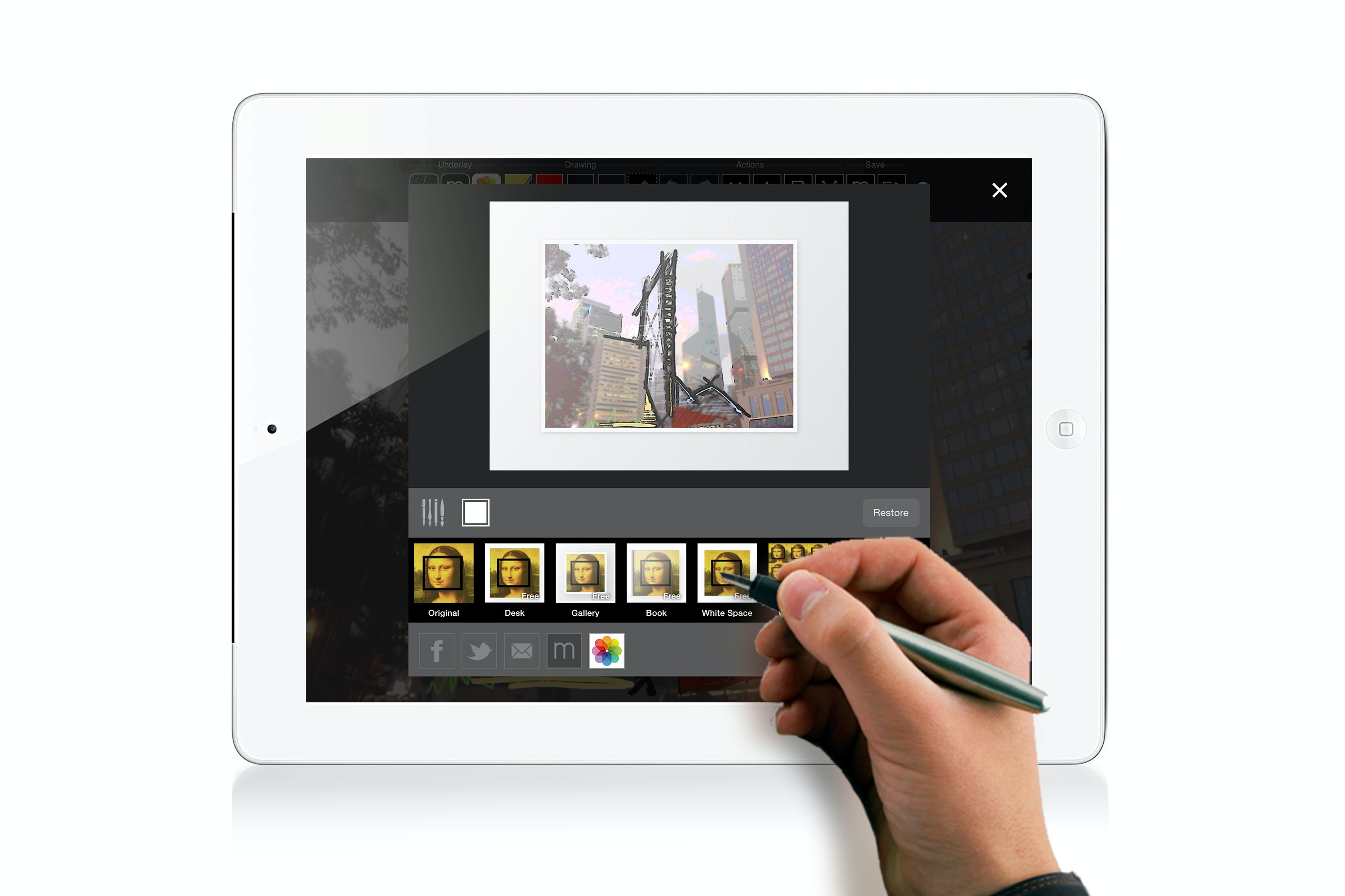 Brilliant Architecture Drawing Ipad And More On Sketch Throughout