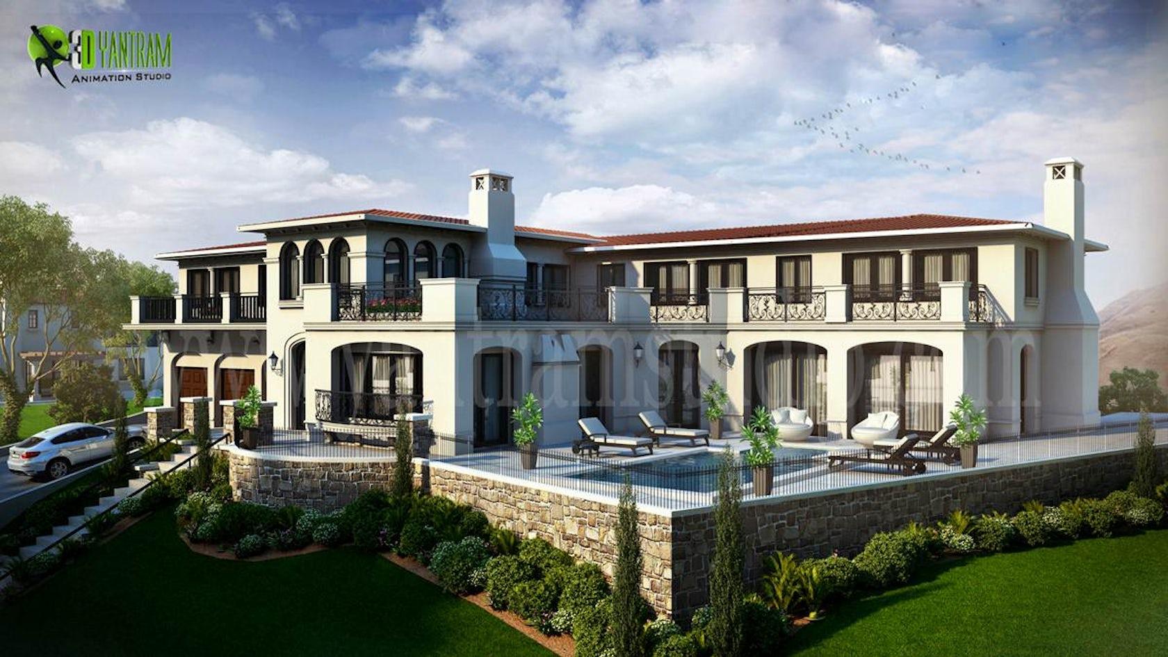 Exterior: Villa Exterior Design