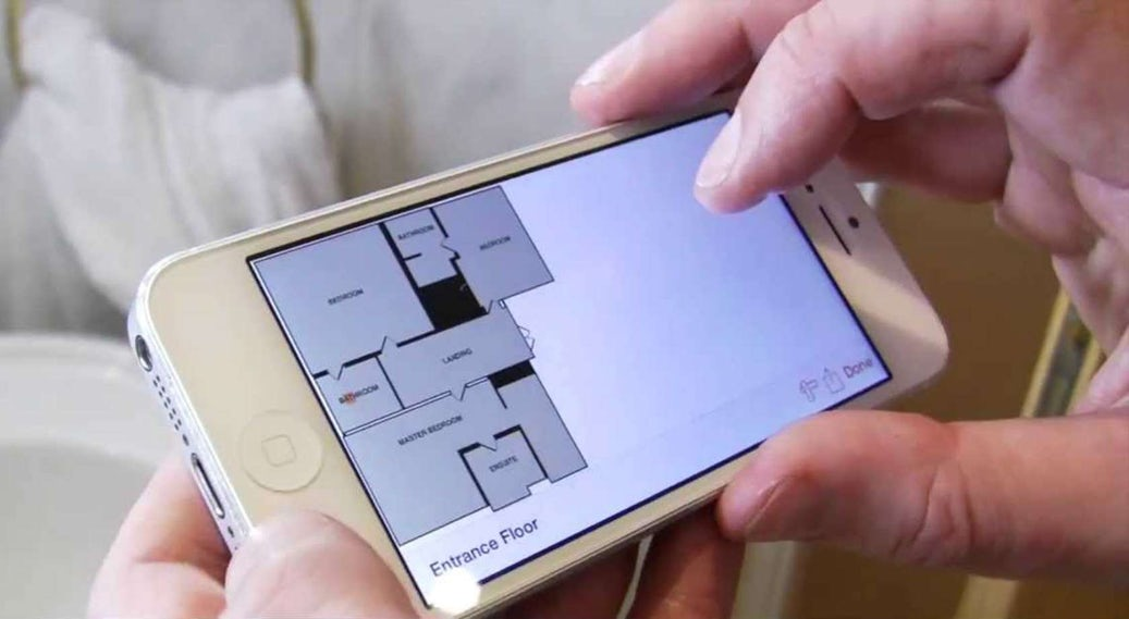 Roomscan Create A 3d Floorplan In Seconds Just By Walking Around The Room Architizer Journal