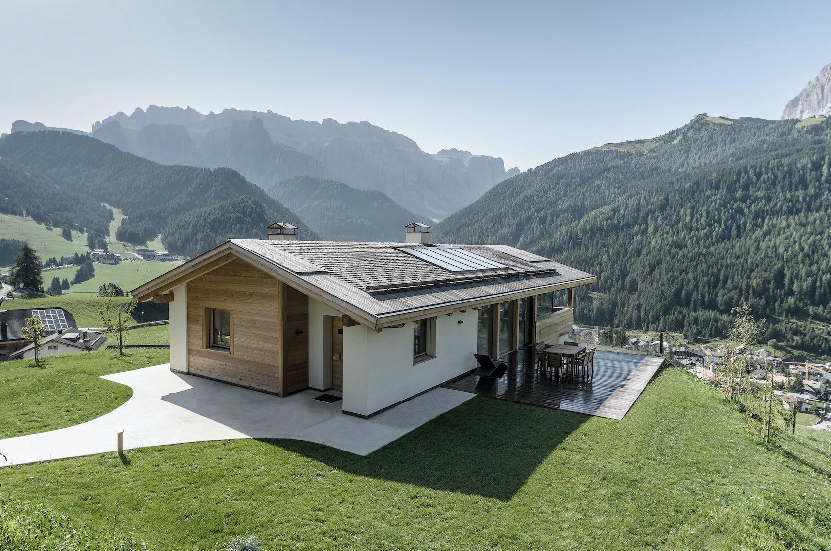 Wohnhaus wolkenstein architizer for Idee per casa nuova