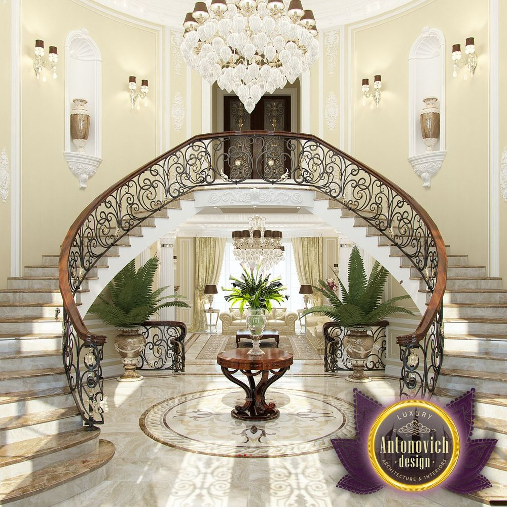 Villa design in uganda from luxury antonovich design on architizer