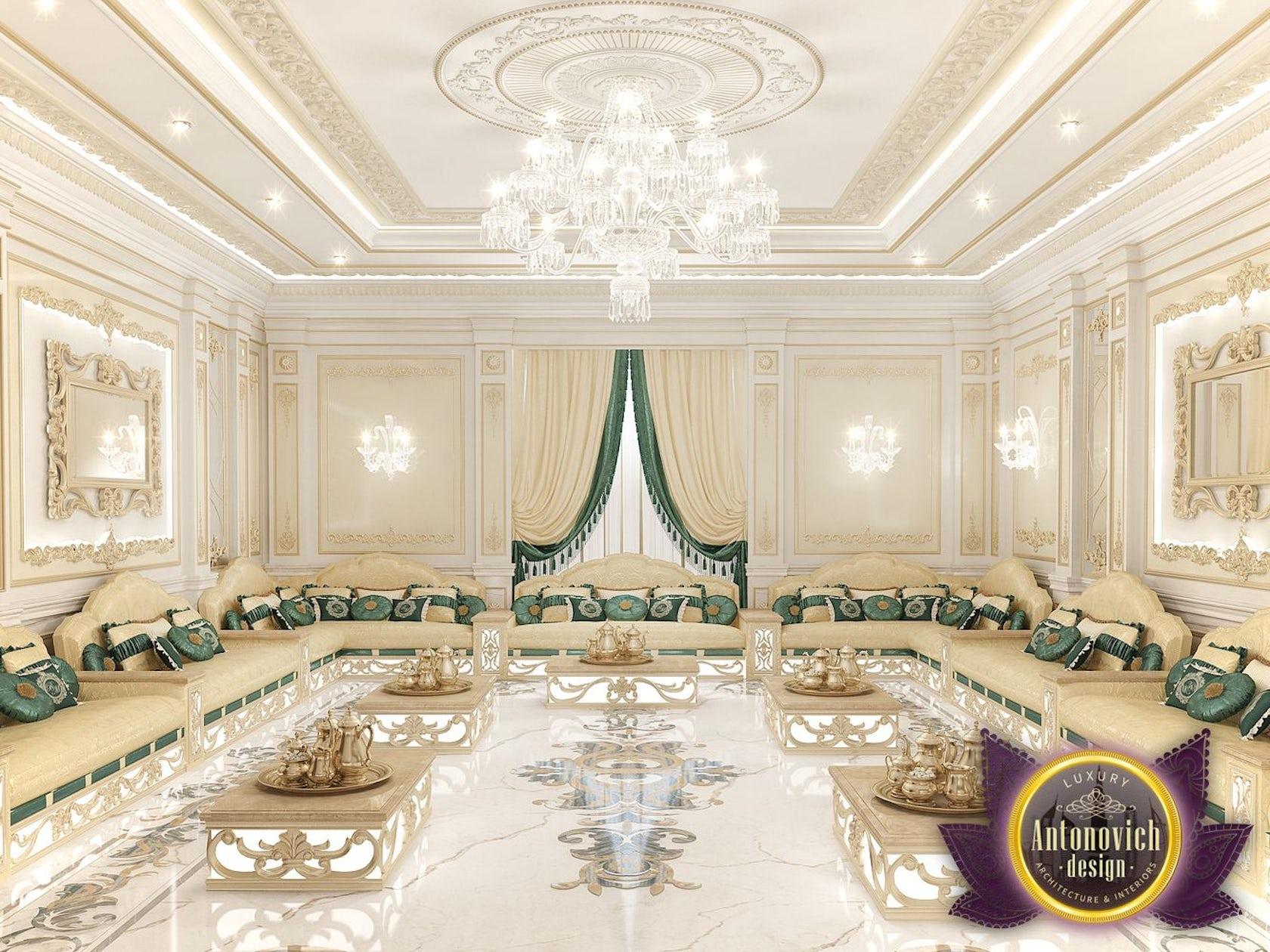 Arabic Majlis Interior Design From Luxury Antonovich