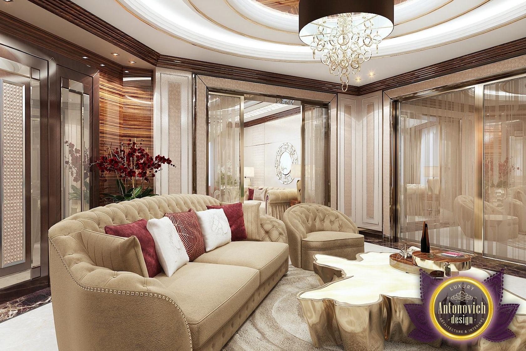 Living Room Design In Nigeria Abuja By Luxury Antonovich Design Architizer