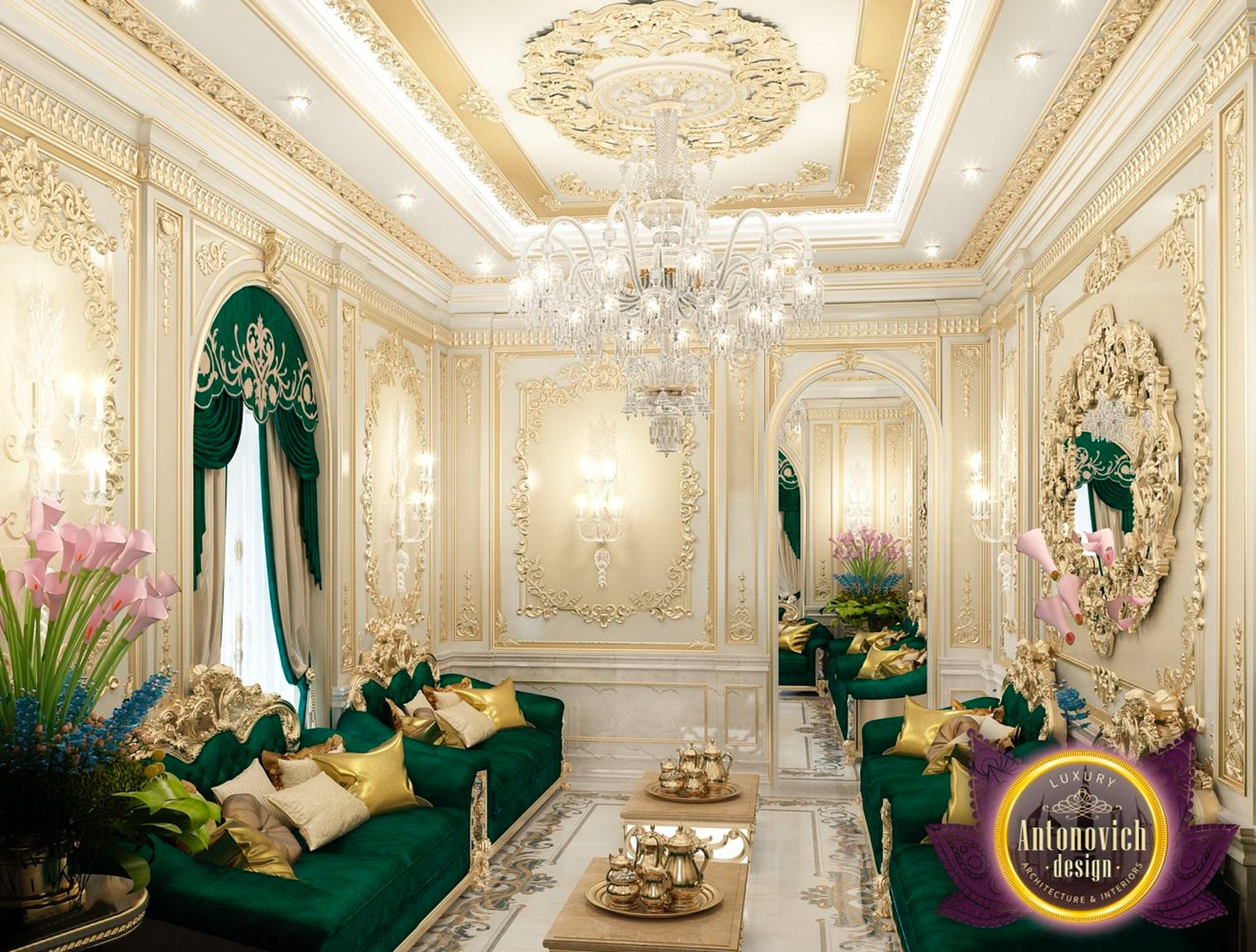 Arabic House Style By Luxury Antonovich Design Architizer