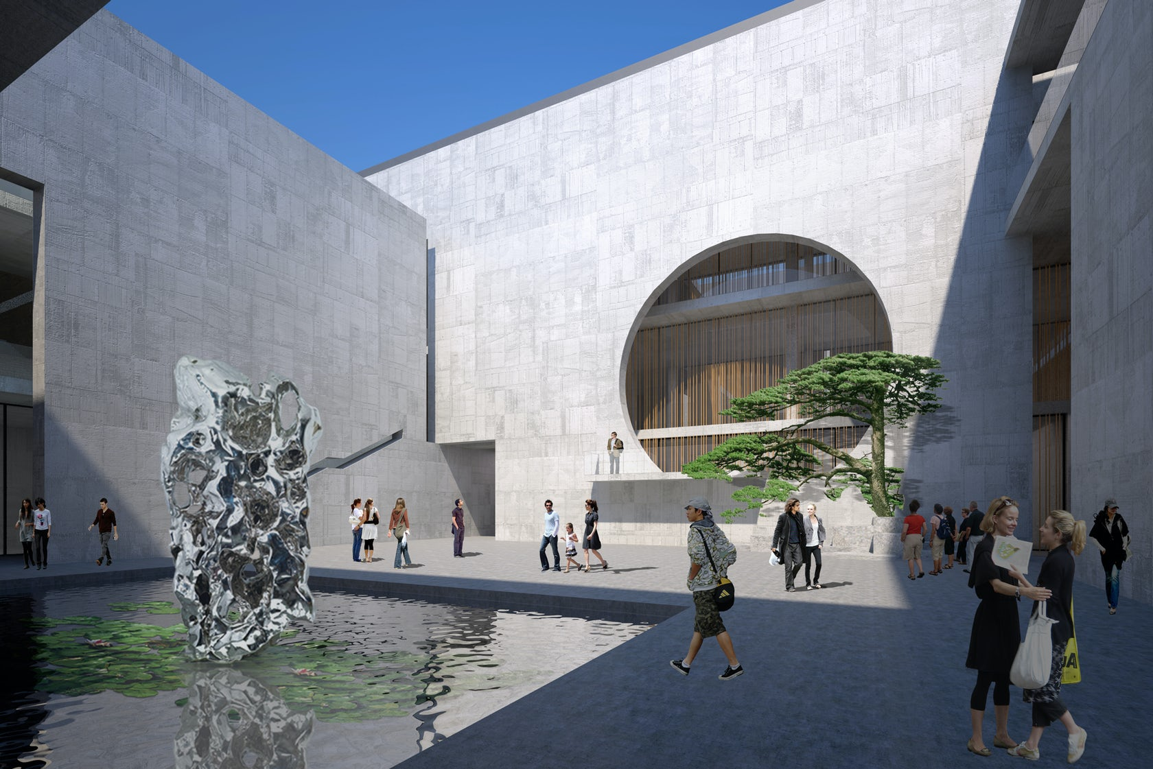 Shou County Culture and Art Center - Architizer