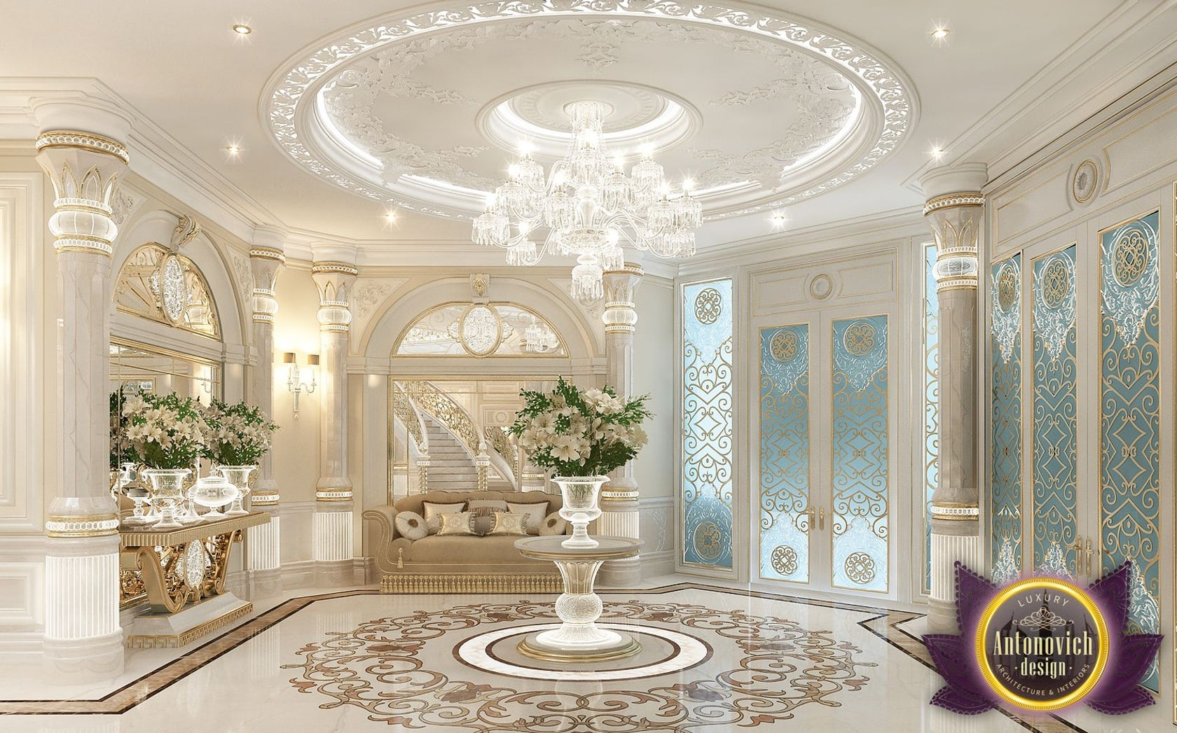 Best Interiors Of Luxury Antonovich Design Dubai Architizer