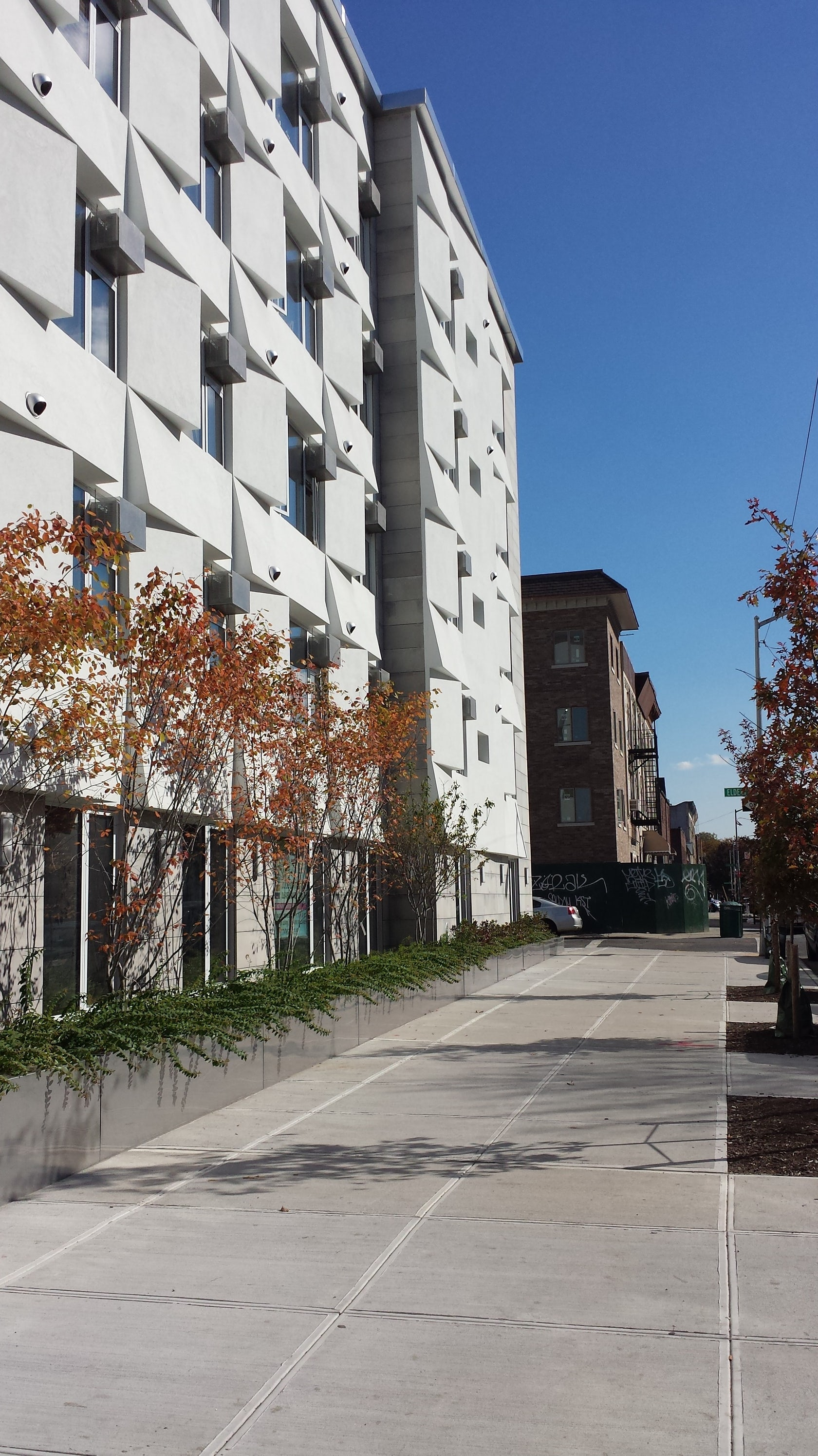 Auto Sun Shades >> Knickerbocker Commons Passive House Apartment Building ...