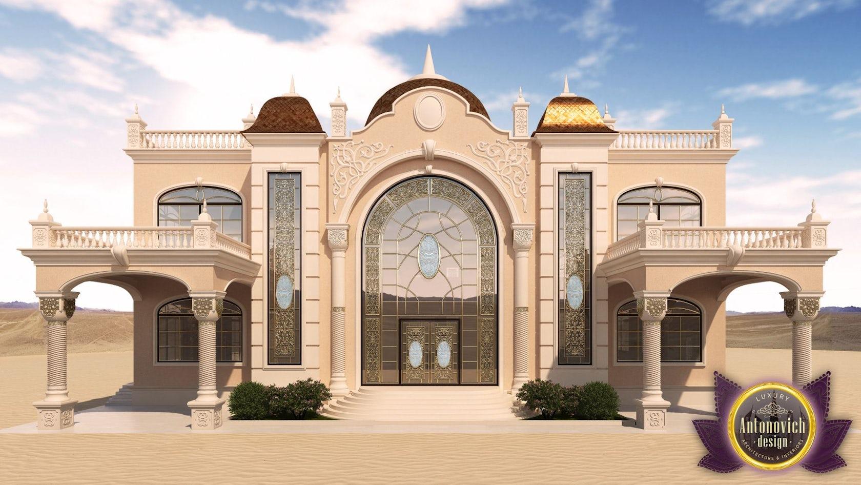 Luxury Arabic Villa Exterior From Antonovich Design