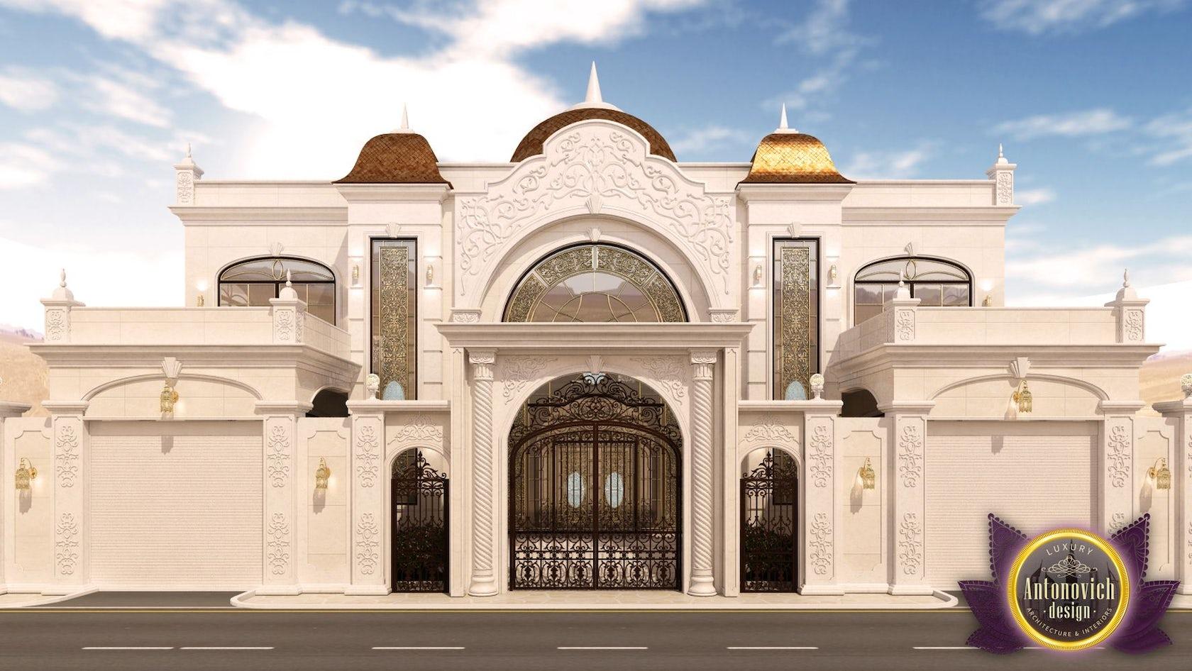 House exterior design of luxury antonovich design on architizer