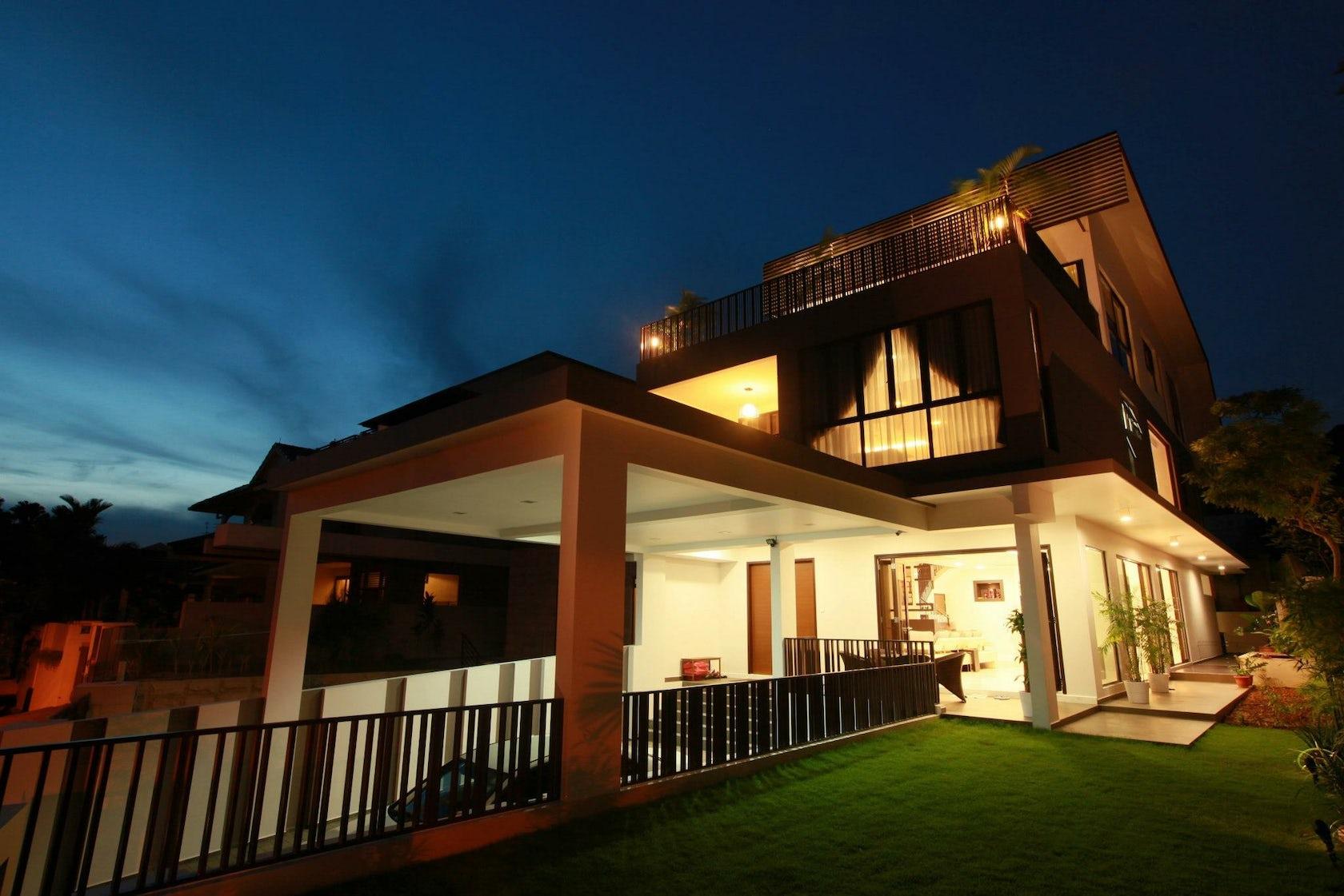 Newest Tropical Modern Minimalist House Pictures 2020: Modern Tropical Minimalist House @ Seletar Estate