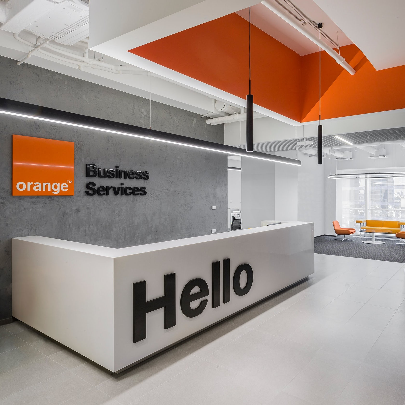 Orange Business Services offices - Architizer