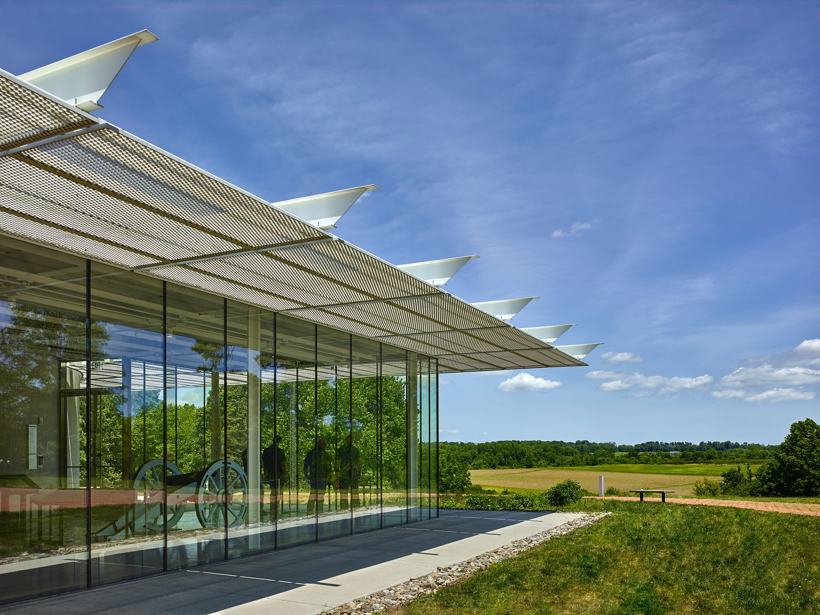 Monmouth Battlefield State Park Visitor Center on Architizer