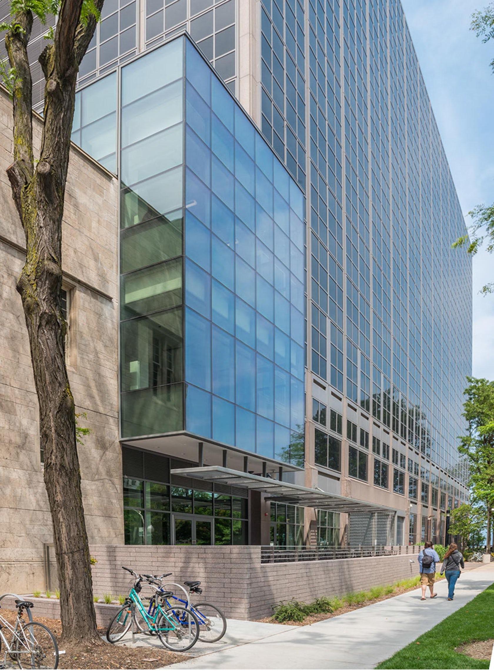 North Knox Auto >> Northwestern University School of Law Rubloff Building Atrium Addition - Architizer