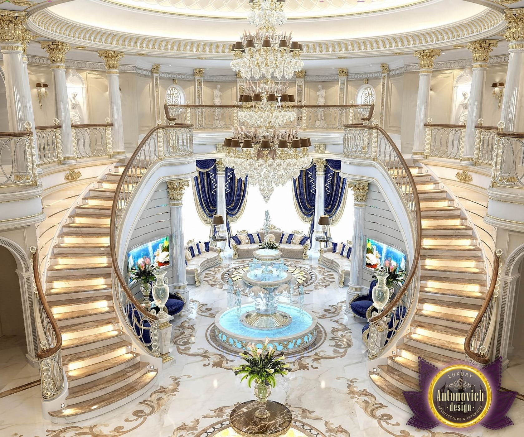 Katrina Antonovich Luxury Interior Design: The Best Interior Design In Saudi Arabia By Katrina