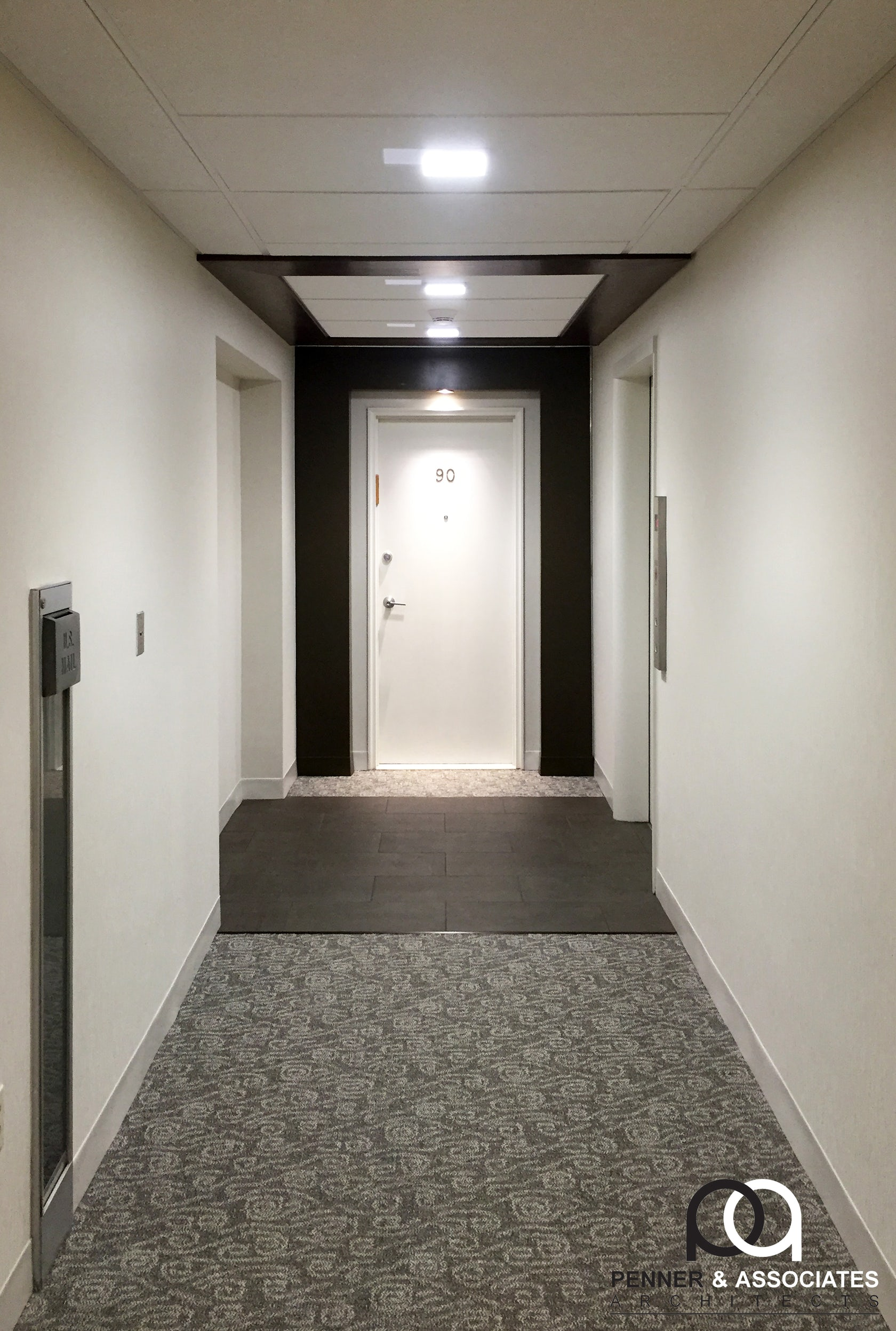 Condominium Hallway Renovation Architizer