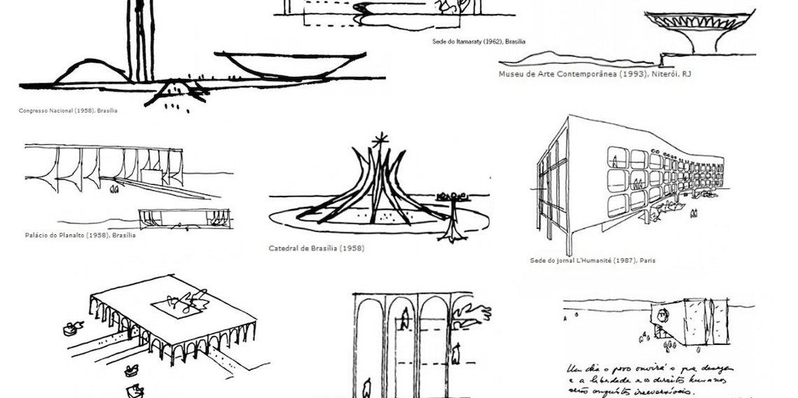 226c6b0c253a Architects  Sketchbooks  Oscar Niemeyer - Architizer Journal