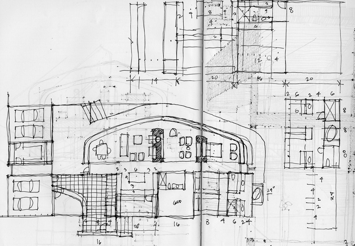 Architecture Drawing Practice young architect guide: architectural sketching - architizer