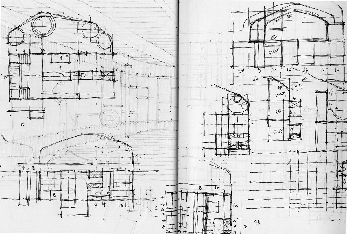 Architecture Design Drawing Sketch young architect guide: architectural sketching - architizer