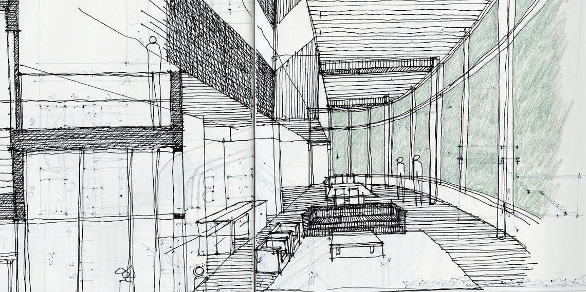 Young Architect Guide Architectural Sketching