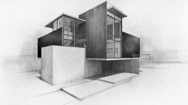 The Art Of Rendering How To Create An Emotive Architectural Sketch In Photoshop Architizer Journal,Small Home Interior Design Ideas