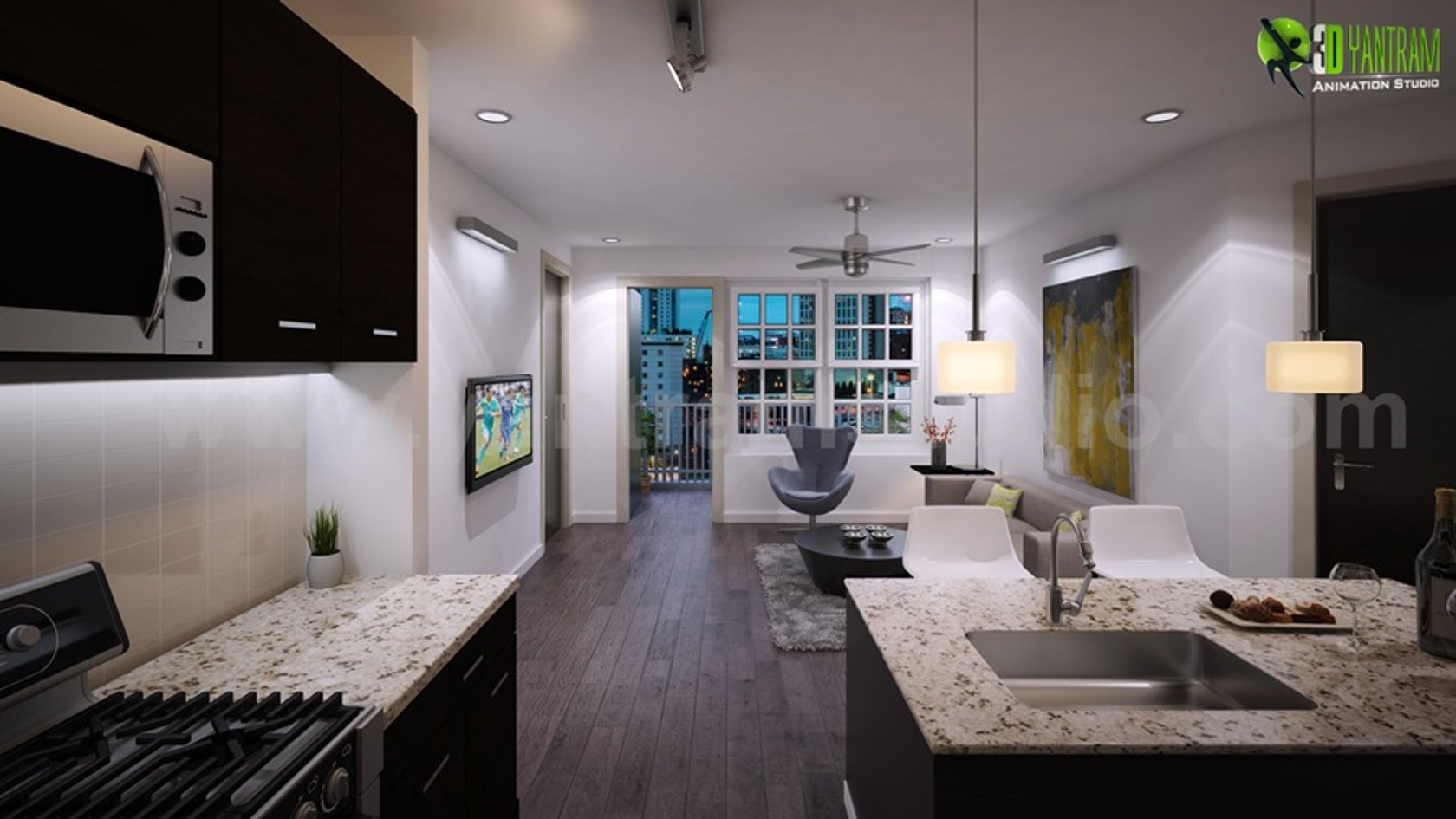 Dream House Kitchen Interior Rendering Tips And Tricks
