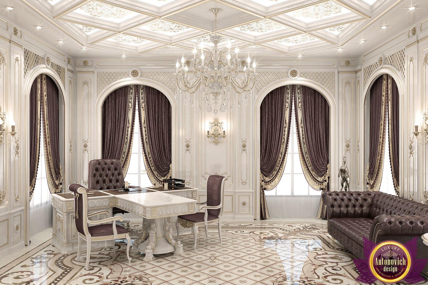 Kitchen Design Usa By Katrina Antonovich: Office Interior Design Of Katrina Antonovich