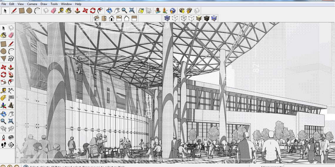 sketchup offset limited