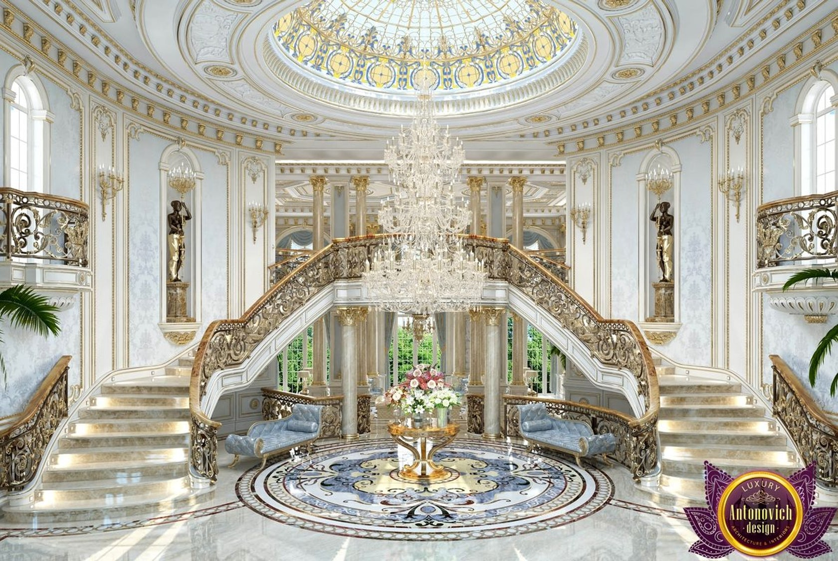 House Interior Design In Pakistan By Luxury Antonovich Design Architizer