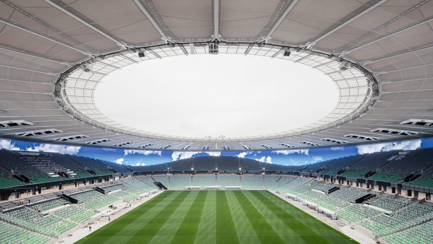 Krasnodar Stadium On Architizer