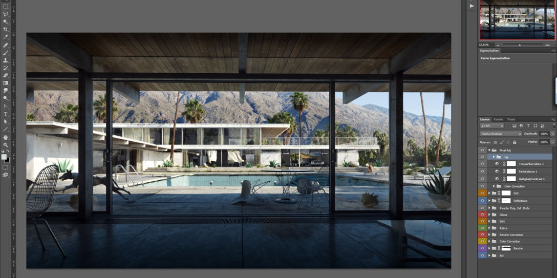 """The Art of Rendering: How to Create """"Arrival"""" Using SketchUp, V-Ray"""