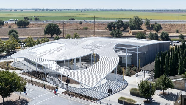 free form roof  Crowning Glory: 5 Incredible Free-Form Roof Designs ...