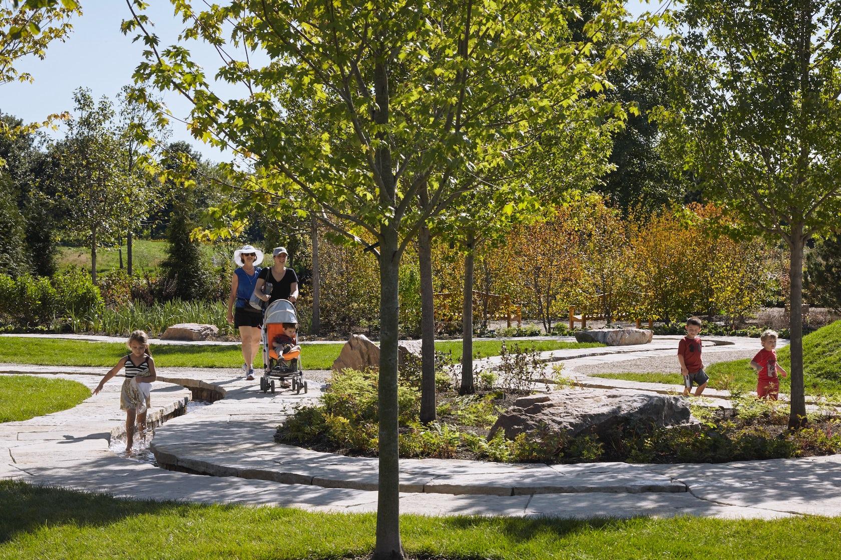 Modern Playground Plan