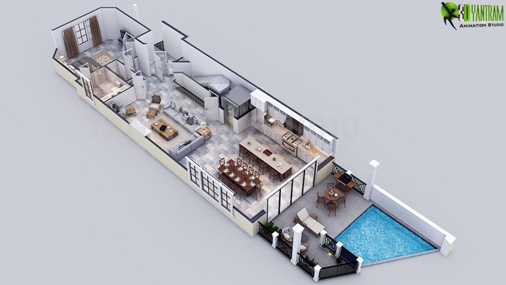 Luxury 3D Floor Plan Maker For Home