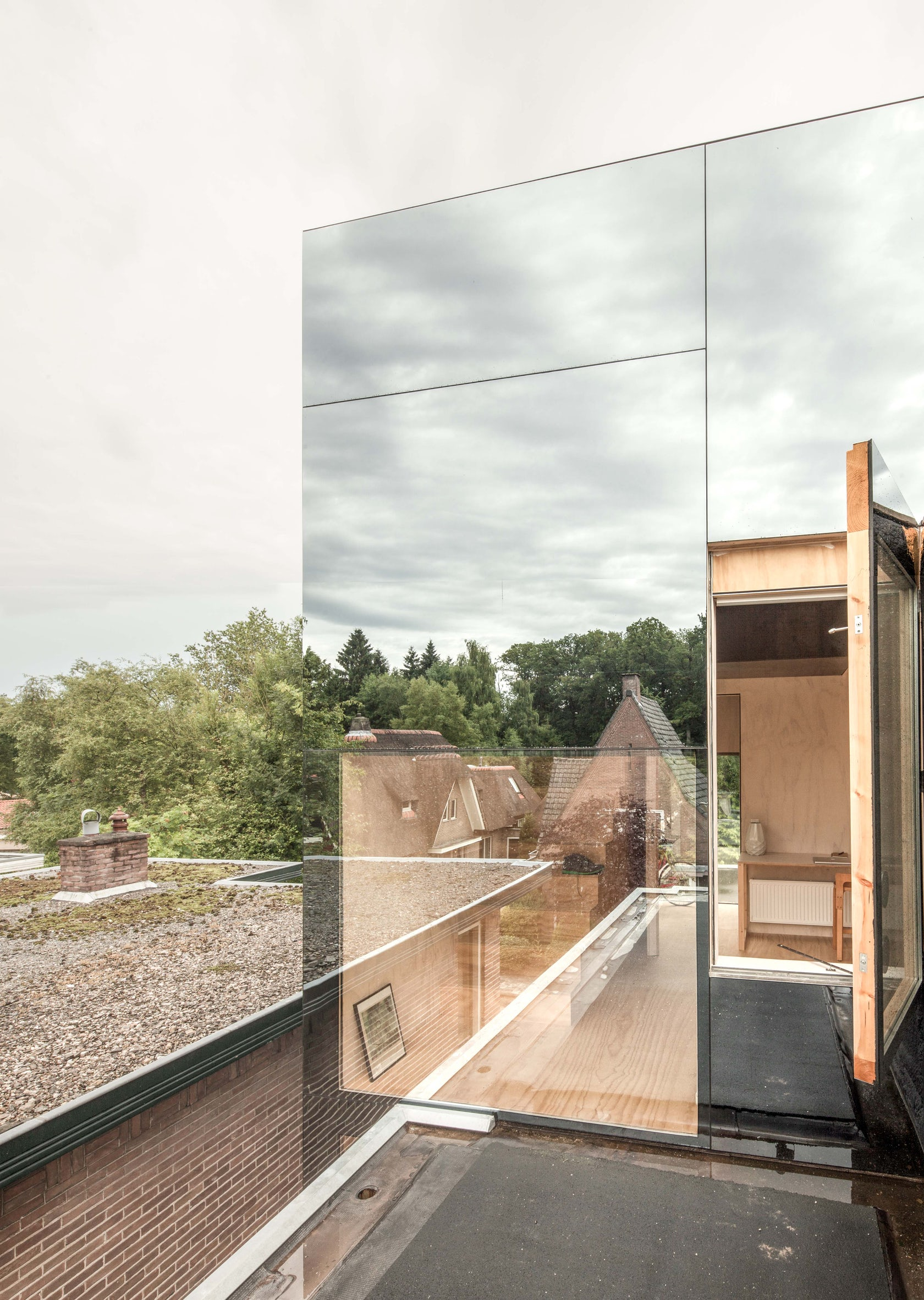 Mirror Mirror On A Roof Architizer