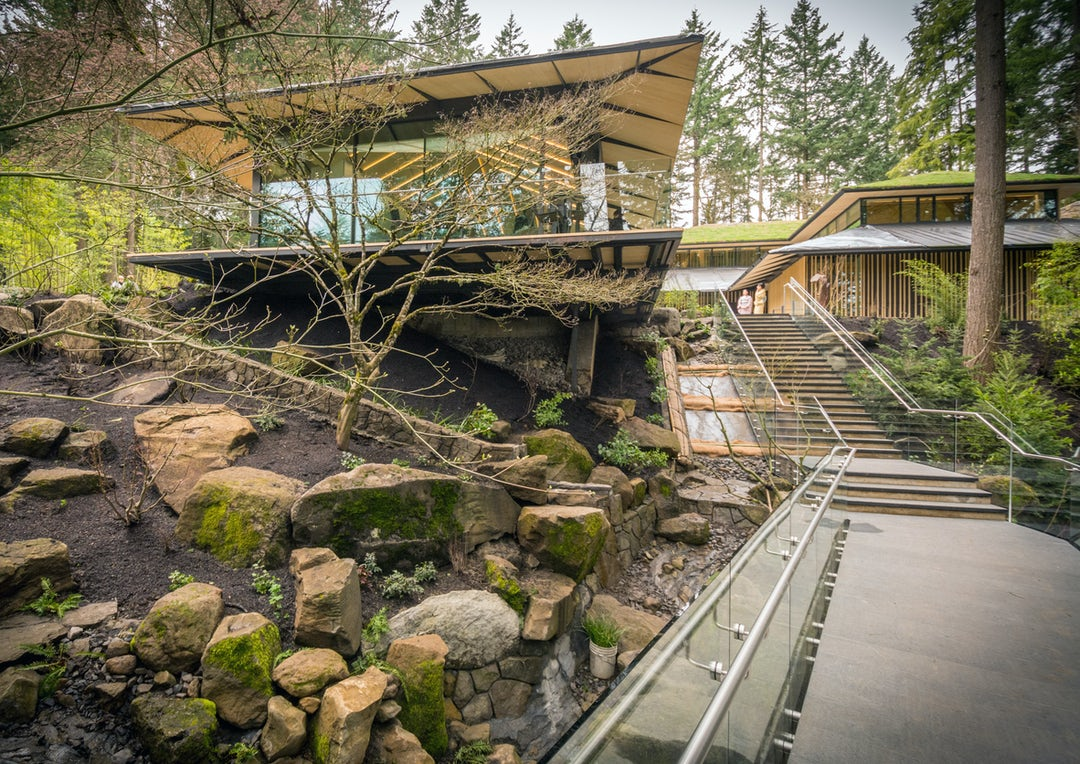 Landscape Timbers Portland Or : Reality kengo kuma s japanese garden opens in portland architizer