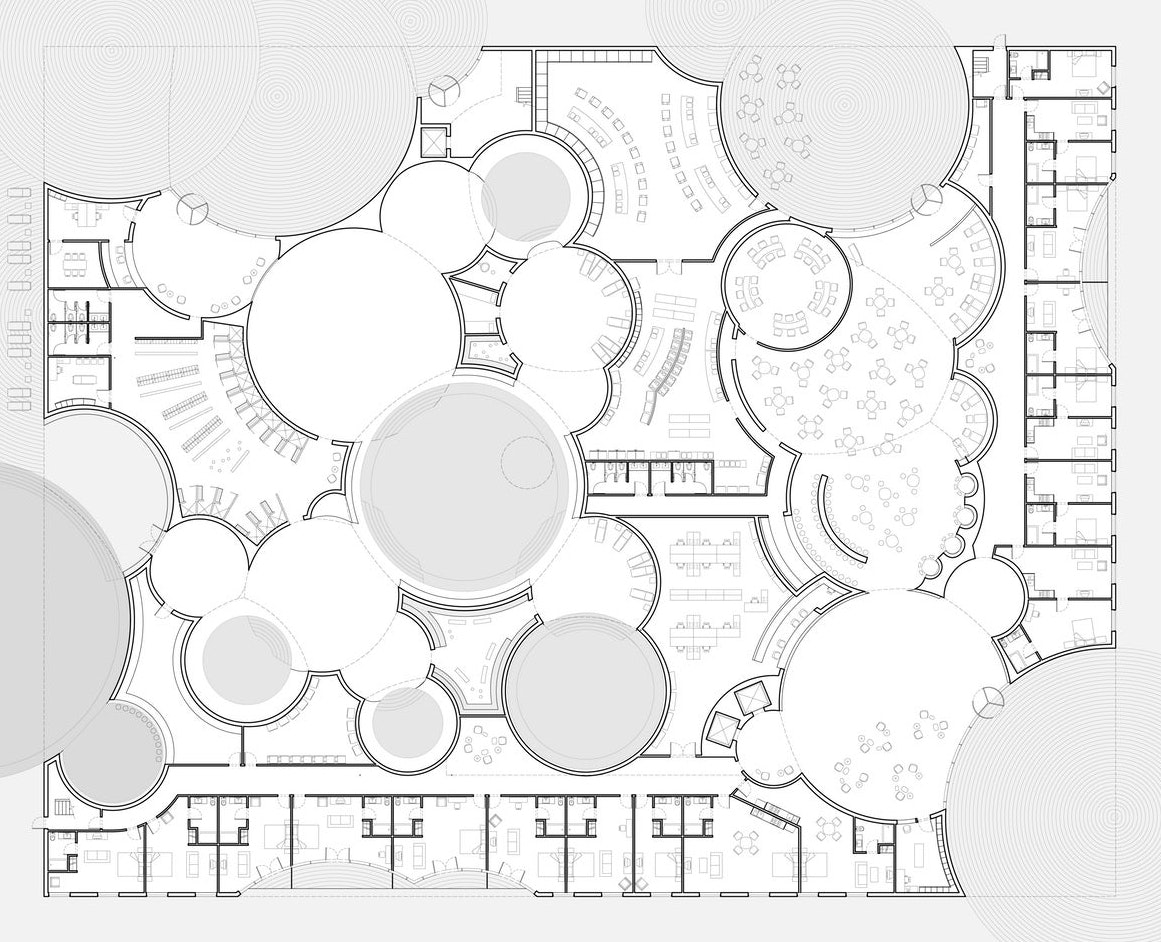 Architectural Drawings 8 Circular Plans That Defy