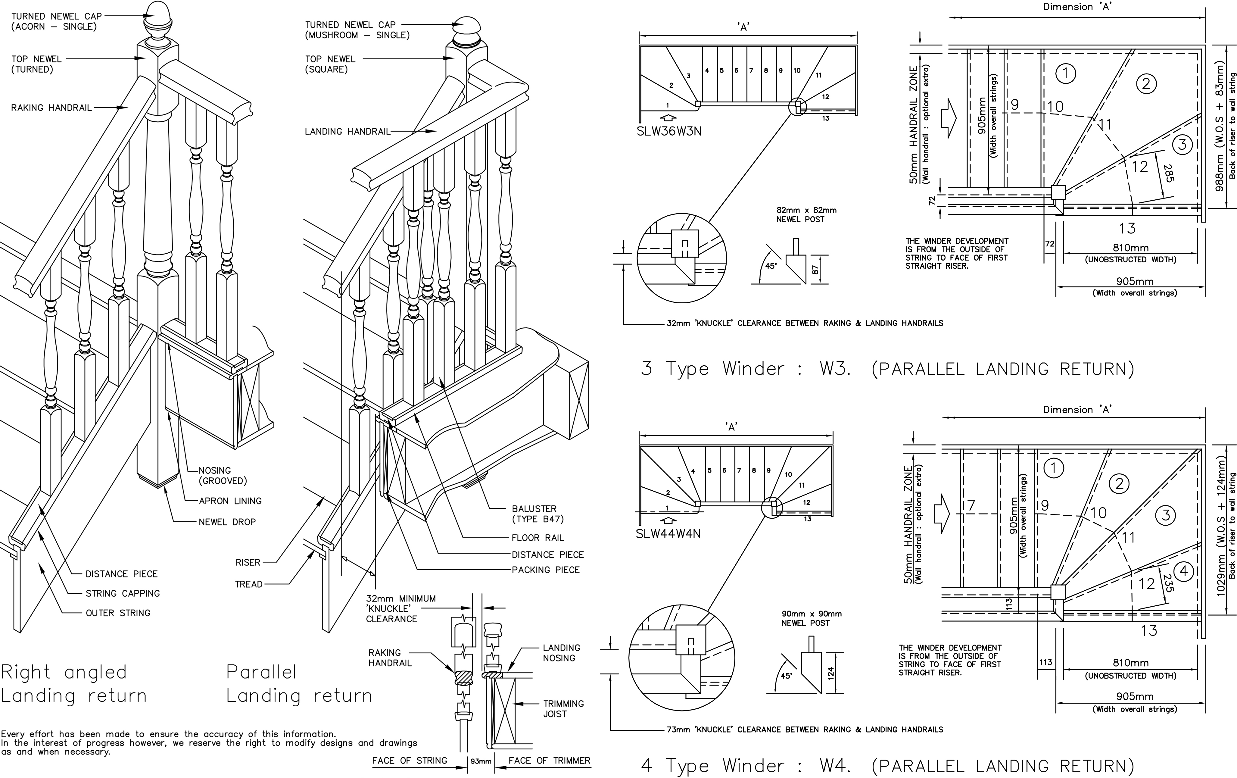 Free: 20 CAD Blocks of Staircases for Use in Your Next