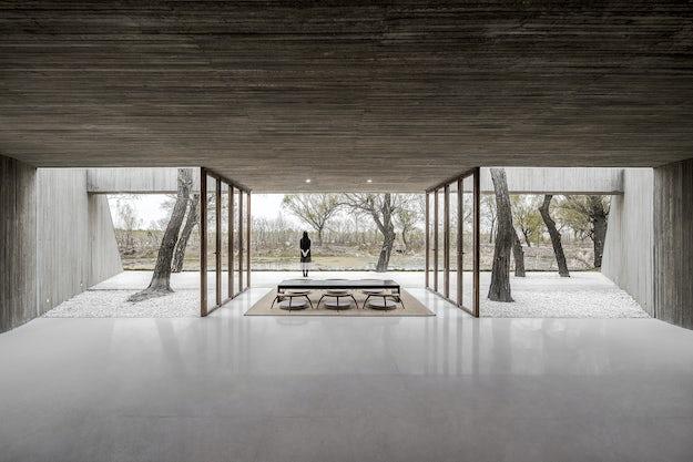Inside Outside: 10 Virtually Seamless Terrazzo Surfaces - Architizer ...