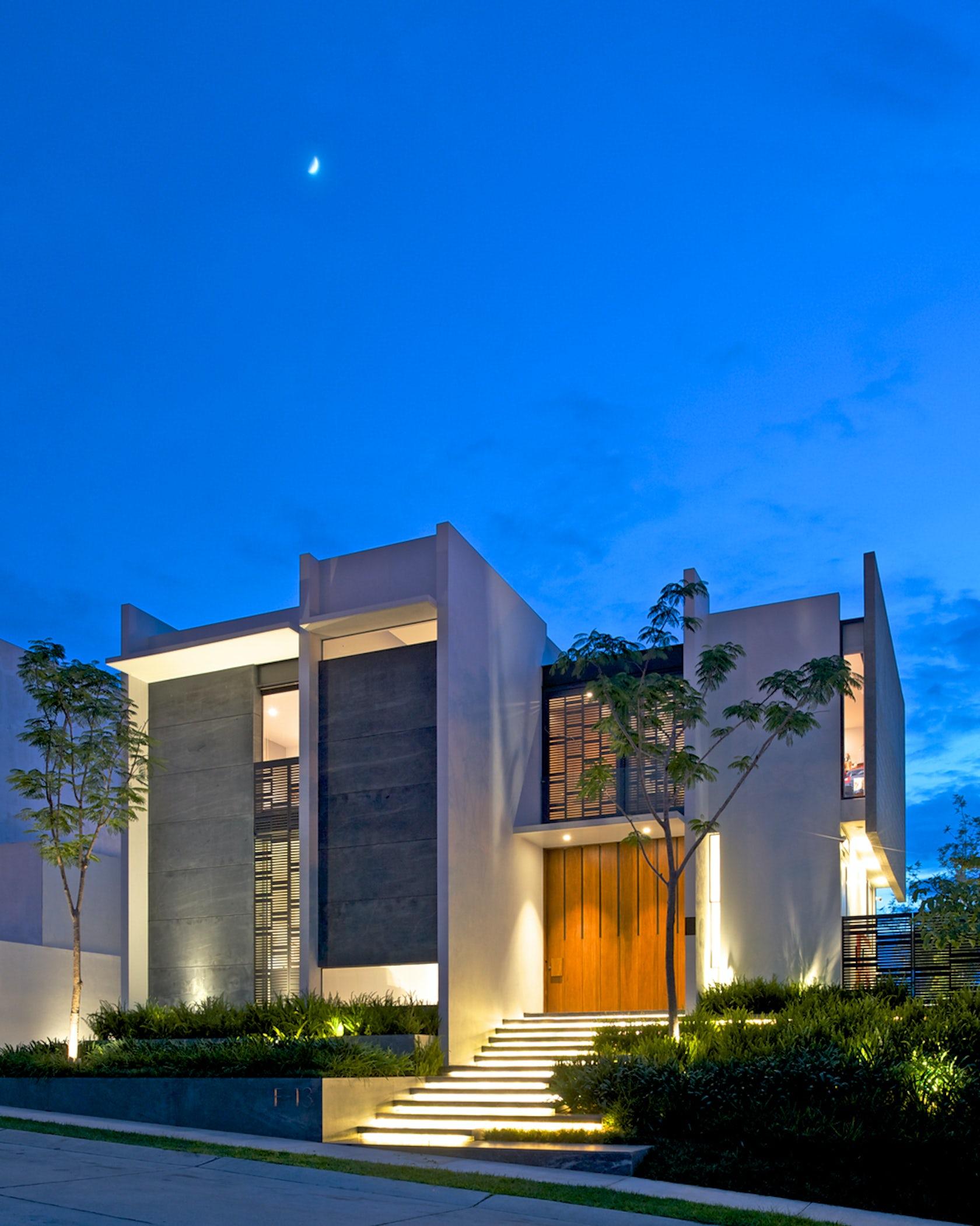 Agraz arquitectos s c architizer for Casa moderna immagini