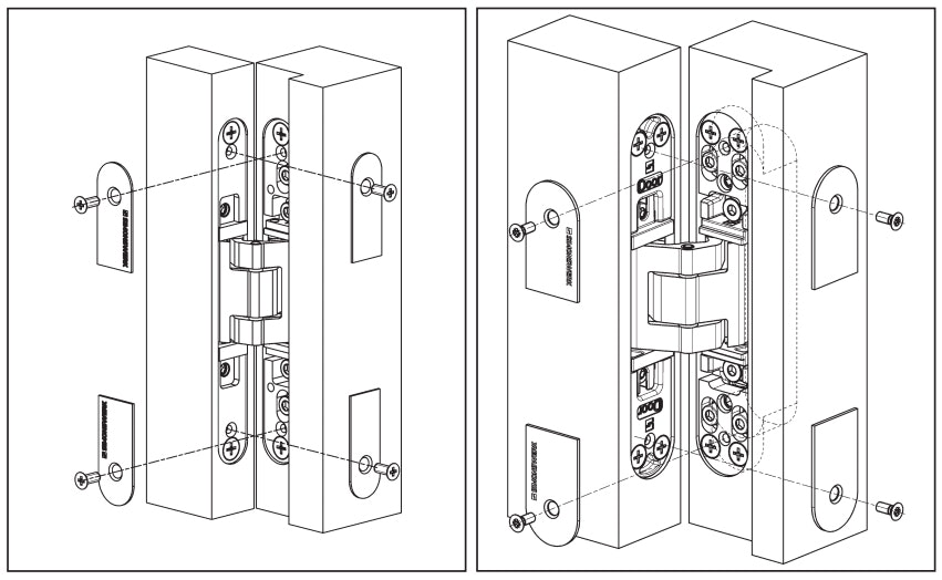 So, Whatu0027s The Difference Between A Normal Hinge And A Hidden Hinge, And  What Impact Does It Have On The Resulting Aesthetic Of The Door?