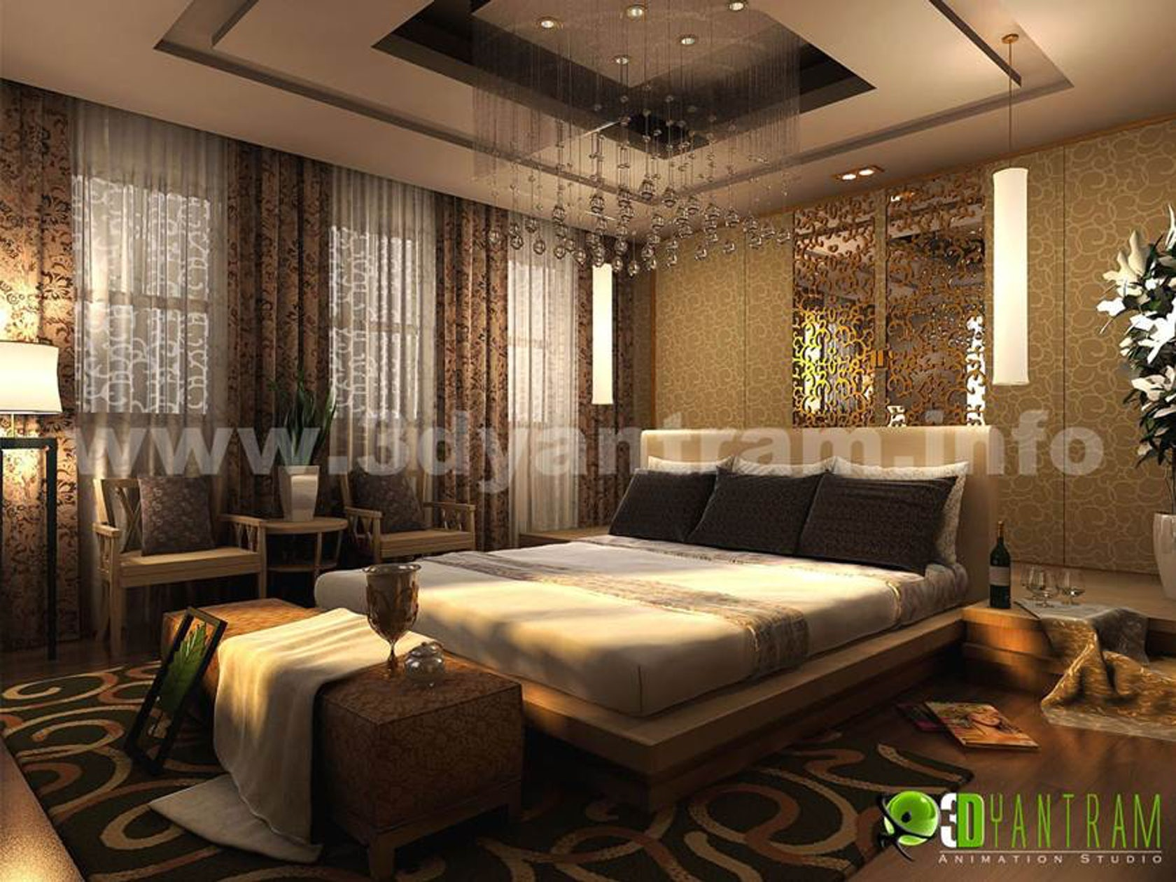 Beautiful Modern 3d Interior Inspiration Hotel Room Design View By Interior Design Firms Architizer