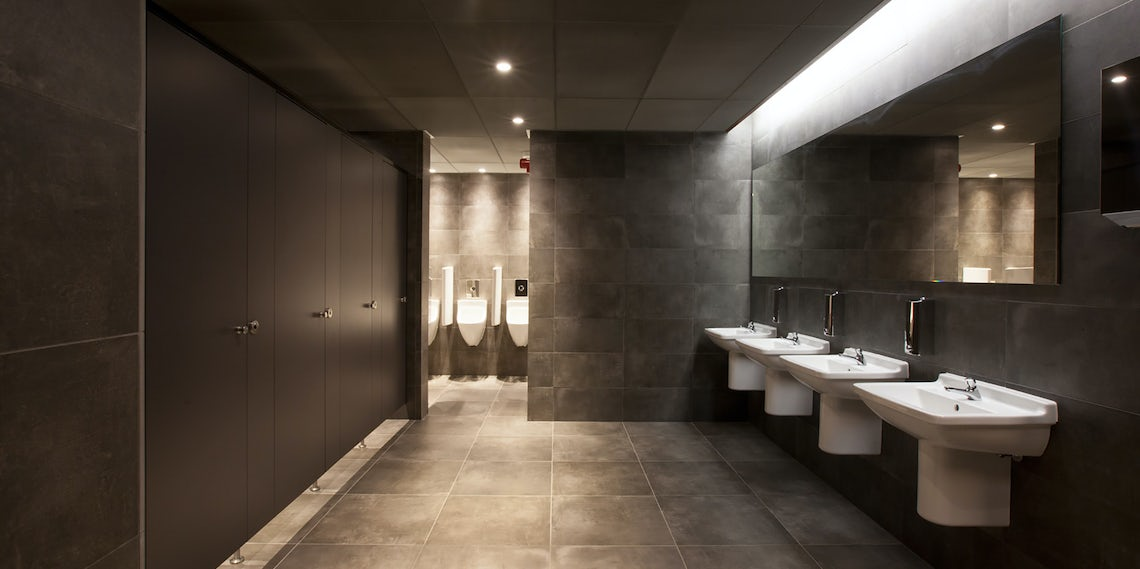 commercial bathroom design commercial bathrooms are taking cues from residential design architizer journal 9026