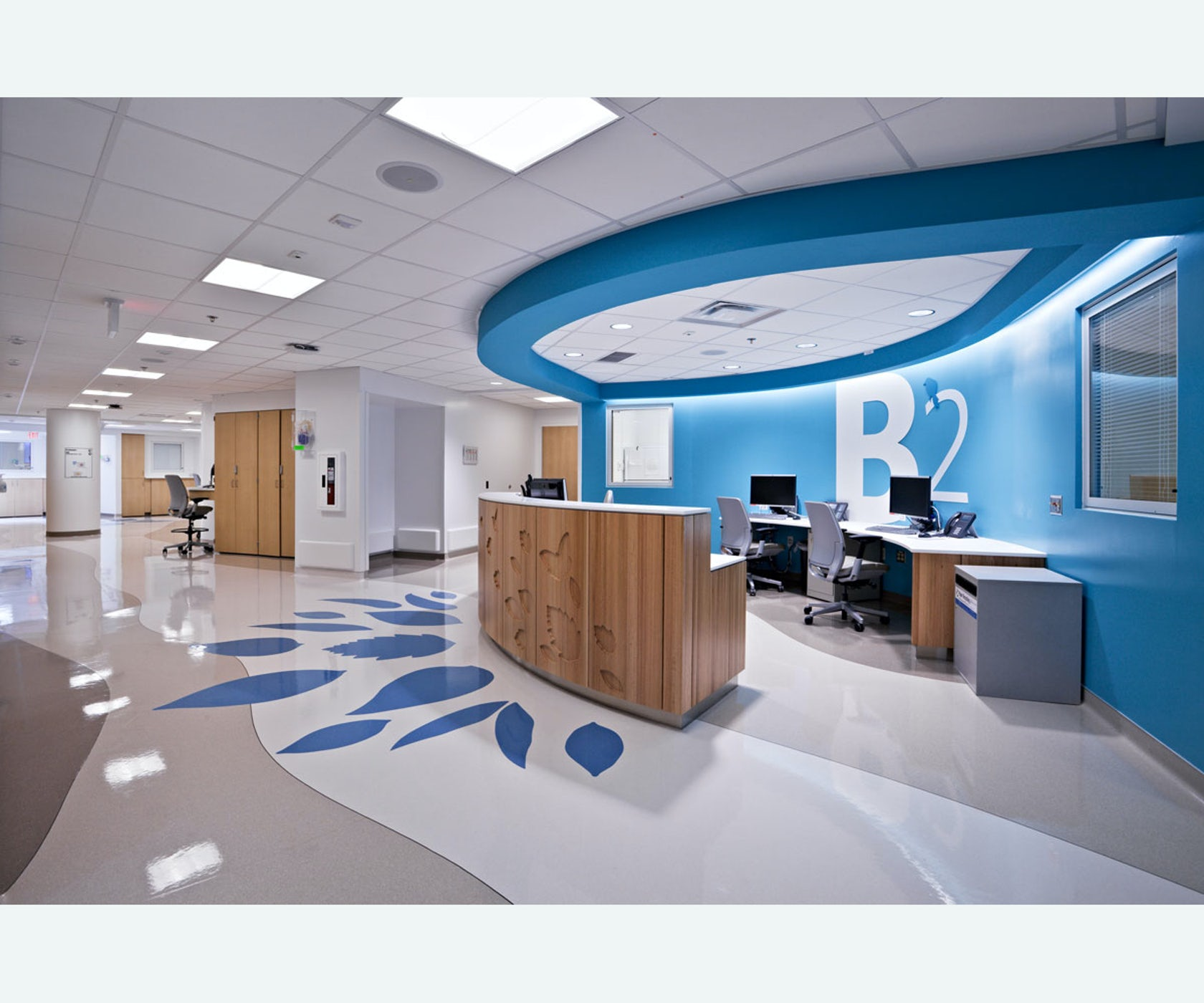 Nationwide children 39 s hospital wayfinding experience - Children s room interior images ...
