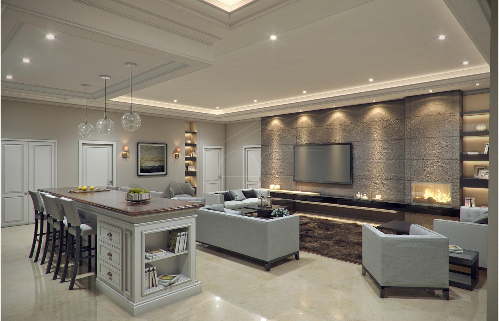 Interior Design Modern: Modern Classic Villa Interior Design