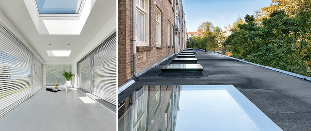 Innovative Flat Roof Windows Take Modern Homes To The Next Level Architizer Journal