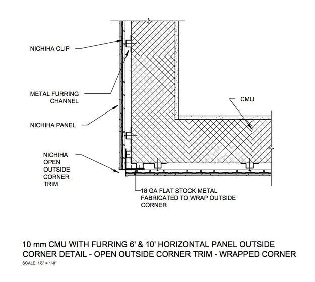 Fiber Cement Panel Details : How to detail a perfectly seamless fiber cement clad